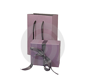 Wrapped Present Stock Image - Image: 14744721