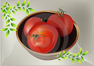 Real Feel Of Tomato Stock Image - Image: 14748781