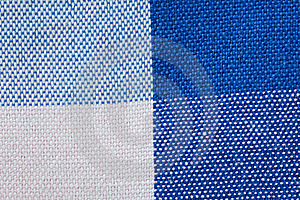 Close-Up Of Gingham Fabric Stock Photography - Image: 14748782