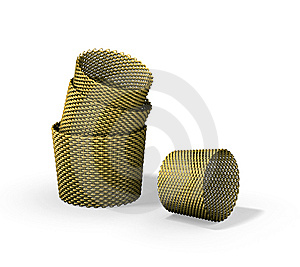 Wood Woven Baskets Stock Photography - Image: 14750532