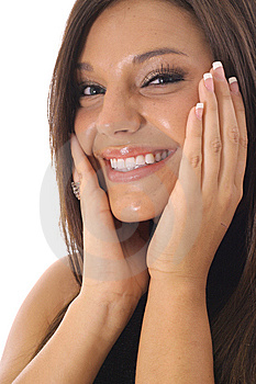 Gorgeous Latino Model Royalty Free Stock Image - Image: 14752076