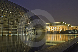 China National Grand Theater Royalty Free Stock Images - Image: 14753729