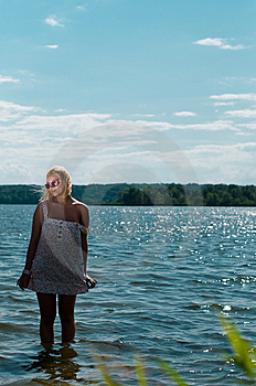 Blond Girl Royalty Free Stock Photography - Image: 14755817