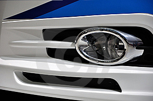 Composition Formed By Car Fog Lamp Stock Images - Image: 14760924