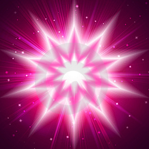 Red Star Flash Royalty Free Stock Photo - Image: 14761415