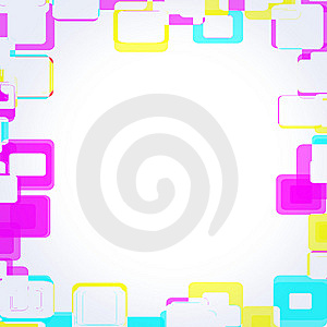 Frame Squares Royalty Free Stock Image - Image: 14761426