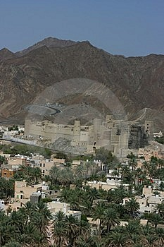 Bahla Fort Royalty Free Stock Image - Image: 14763206