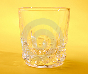 Empty Wine Glass Royalty Free Stock Images - Image: 14763499