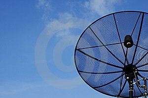 Clouds And Sky Satellite Royalty Free Stock Images - Image: 14763999