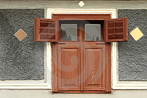 Old Rural Wooden House Window Royalty Free Stock Photos - Image: 14765928
