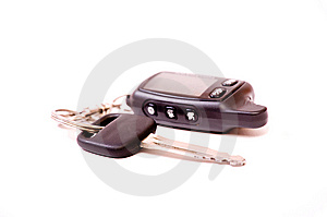 Key Of A Car A Charm Stock Images - Image: 14767224