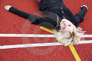Track Stock Photo - Image: 14769320