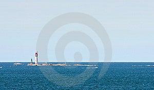 Island Lighthouse Stock Images - Image: 14769654