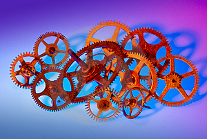Multiple Gears Stock Photos - Image: 14770553