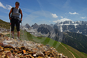 Mountain Hiking Stock Images - Image: 14770994