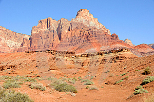 Vermilion Cliffs Monolith Royalty Free Stock Photography - Image: 14772067