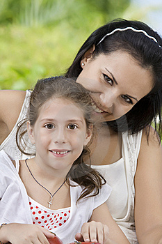 With Mama Royalty Free Stock Image - Image: 14772596