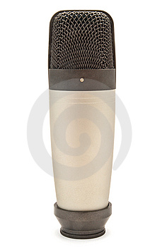 Condenser Microphone Royalty Free Stock Photo - Image: 14773215