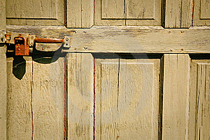 Door And Lock Stock Image - Image: 14776471