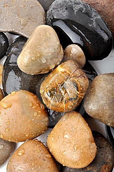 Spa Stones Royalty Free Stock Photography - Image: 14777097
