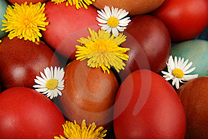 Easter Eggs Royalty Free Stock Photo - Image: 14777265