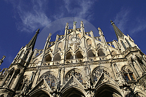 Town Hall At The Marienplatz In Munich Stock Image - Image: 14777391