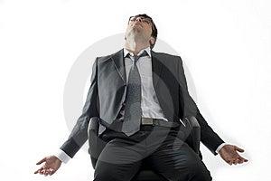 Tired/Depressed Businessman Royalty Free Stock Image - Image: 14777546