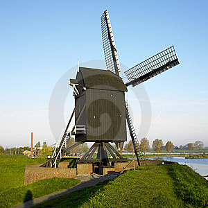 Windmill Stock Image - Image: 14778791