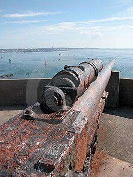 German Guns On Jersey Stock Photos - Image: 14780733