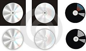CD的图象徽标 免版税库存照片 - 图片: 14782025