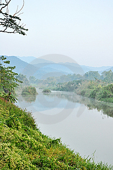River In The Valley Royalty Free Stock Image - Image: 14783856