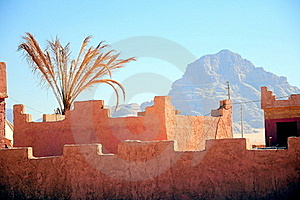 Fortress Wall Against The Blue Sky Royalty Free Stock Photography - Image: 14784127