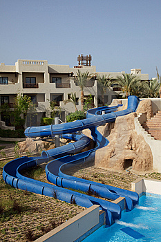 Water Slide Royalty Free Stock Photos - Image: 14785308