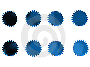Blue Stars Stock Photography - Image: 14785382