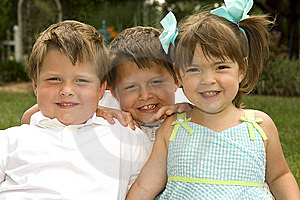 Brothers And Sister Royalty Free Stock Image - Image: 14787516