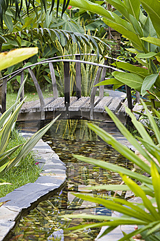 Garden Bridge Stock Images - Image: 14788194