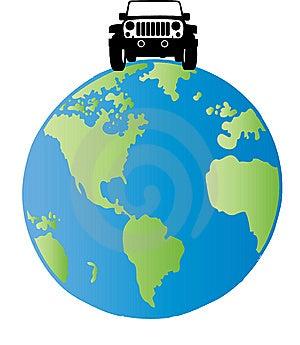 верхний мир Стоковое Изображение - изображение: 14788671