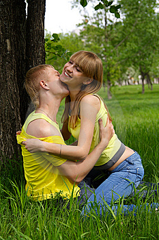 Sweet Kiss Royalty Free Stock Images - Image: 14789319