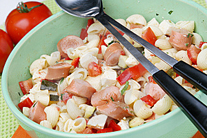 Pasta Salad Stock Images - Image: 14790644