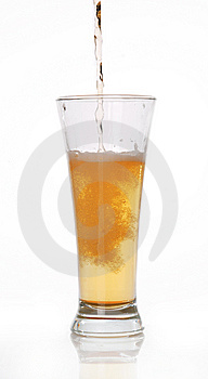 Glass Of Beer Close-up Stock Image - Image: 14791531