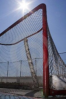 Roller Hockey Net Stock Photos - Image: 14792303