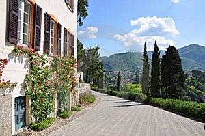 Villa Servelloni At The Famous Italian Lake Como Royalty Free Stock Photo - Image: 14792495