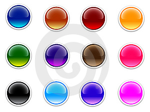 Shiny_buttons Stock Images - Image: 14795074
