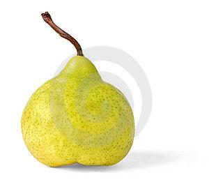 Yellow Pear Royalty Free Stock Photos - Image: 14795608