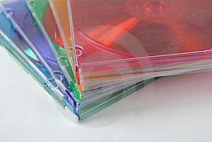 Cd Jewel Cases Stock Image - Image: 14796591