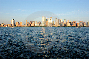 Manhattan Skyline Free Stock Photo
