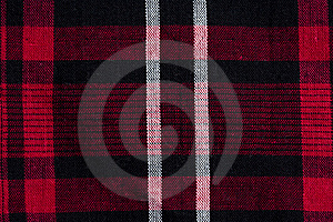 Texture Of Red-black Checkered Fabric Royalty Free Stock Images - Image: 14797339