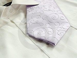 Lila Ornaments Tie Royalty Free Stock Photo - Image: 14797855