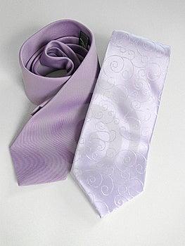 Lila Tie Royalty Free Stock Image - Image: 14797896