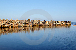 Old Pier Stock Images - Image: 14798094